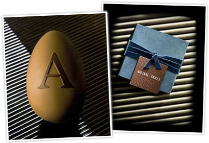 immagine EVEN IF SOMEONE SAYS THERE IS ECONOMIC DOWNTURN, ARMANI SELLS EASTER EGGS AT 425 BUCKS A PIECE...