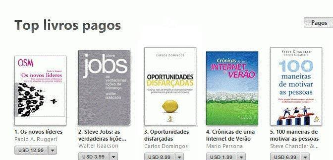 immagine THE NEW LEADERS IN PORTOGUESE N. 1 ON BRASILIAN I-TUNES STORE