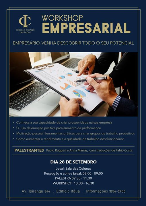 immagine WORKSHOP EMPRESARIAL, SAO PAULO BRAZIL