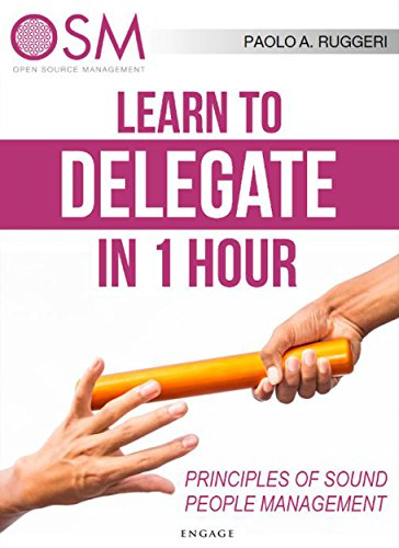 immagine del libro Learn How to Delegate in 1 Hour